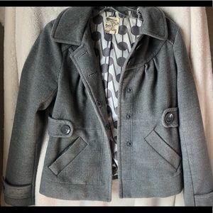 Grey Nordstrom pea coat